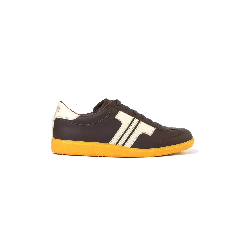 7ecea3ff187c ... Tisza cipő - Compakt - Barna-bézs ...