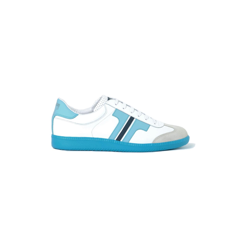Tisza cipő - Compakt - Fehér-világoskék-sötétkék