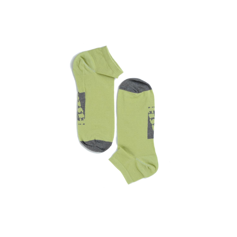 Tisza cipő - Zokni - Zöld-szürke