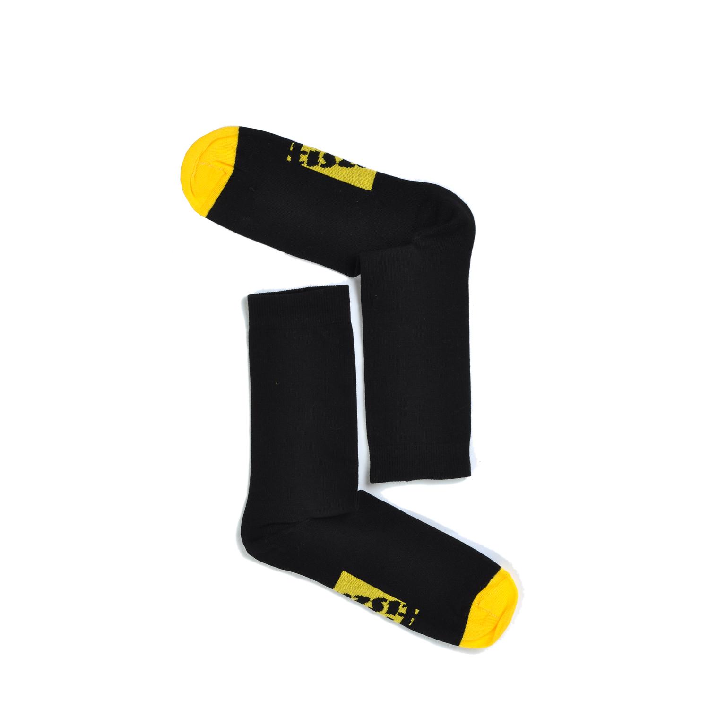Tisza cipő - Zokni - Fekete-sárga
