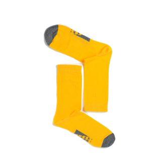 Tisza cipő - Zokni - Sárga-szürke
