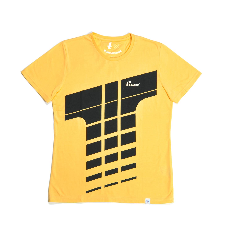 Tisza cipő - Póló - Derby sárga