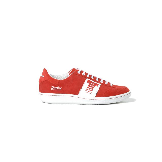 Tisza cipő - Derby - Meggy