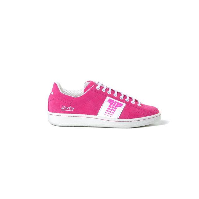 Tisza cipő - Derby - Magenta