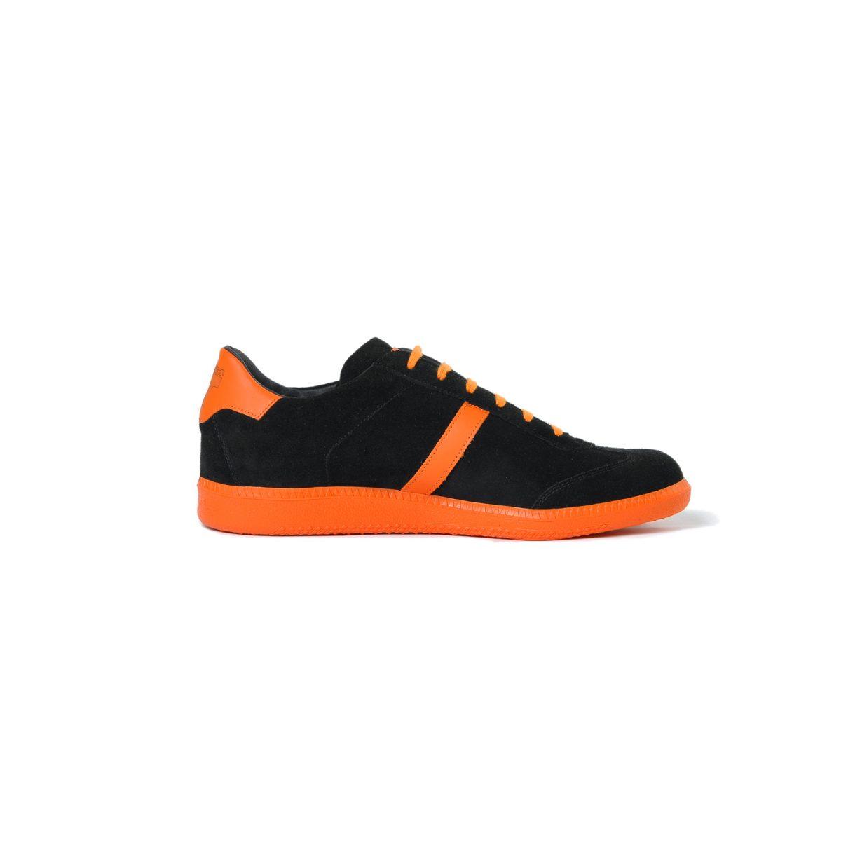 Tisza cipő - Comfort - Fekete-narancs