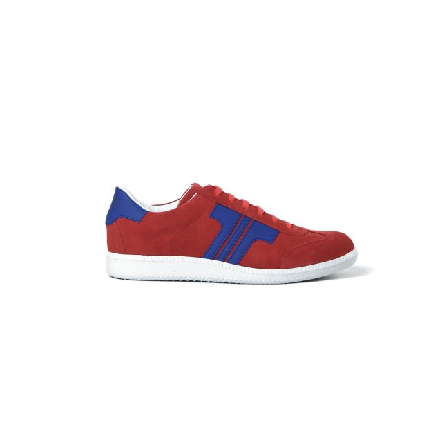 Tisza cipő - Comfort - Piros-indigó
