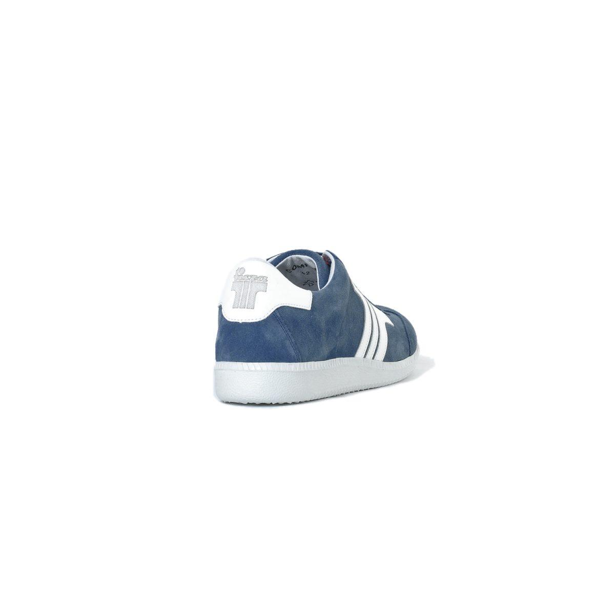 Tisza cipő - Comfort - Sötétkék-fehér