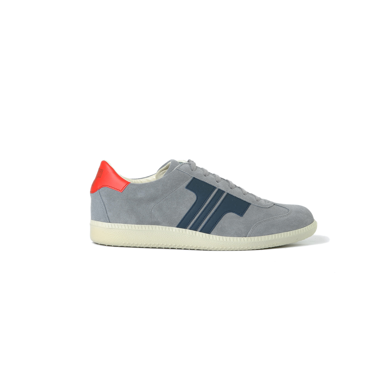 Tisza cipő - Comfort - Szürke-sötétkék-piros