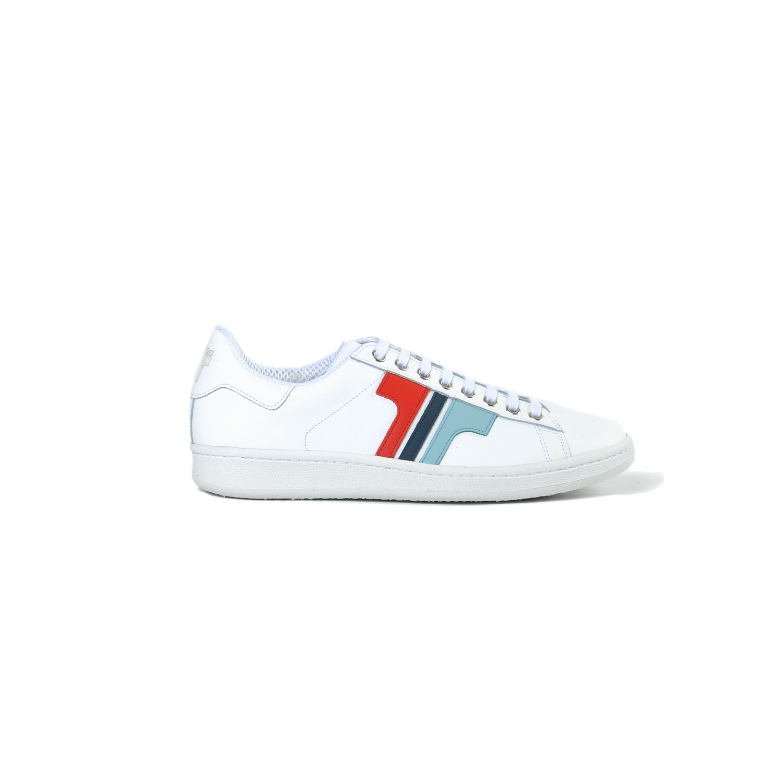 Tisza cipő - Tradíció'80 - Fehér-kék-piros