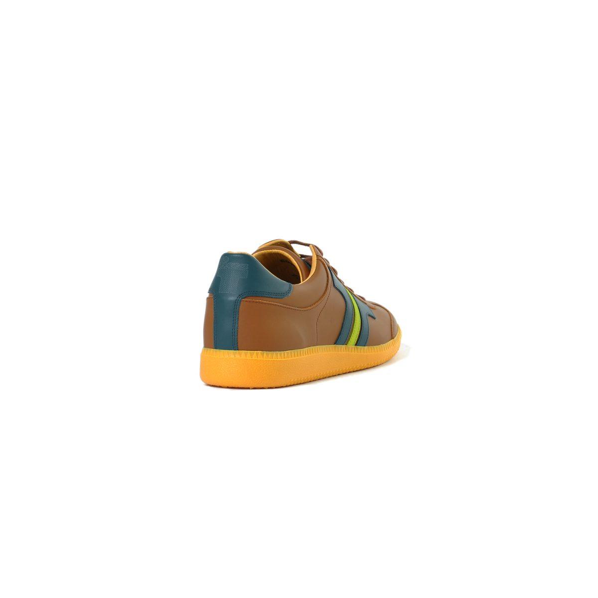 Tisza cipő - Compakt - Bronzbarna-kék korall
