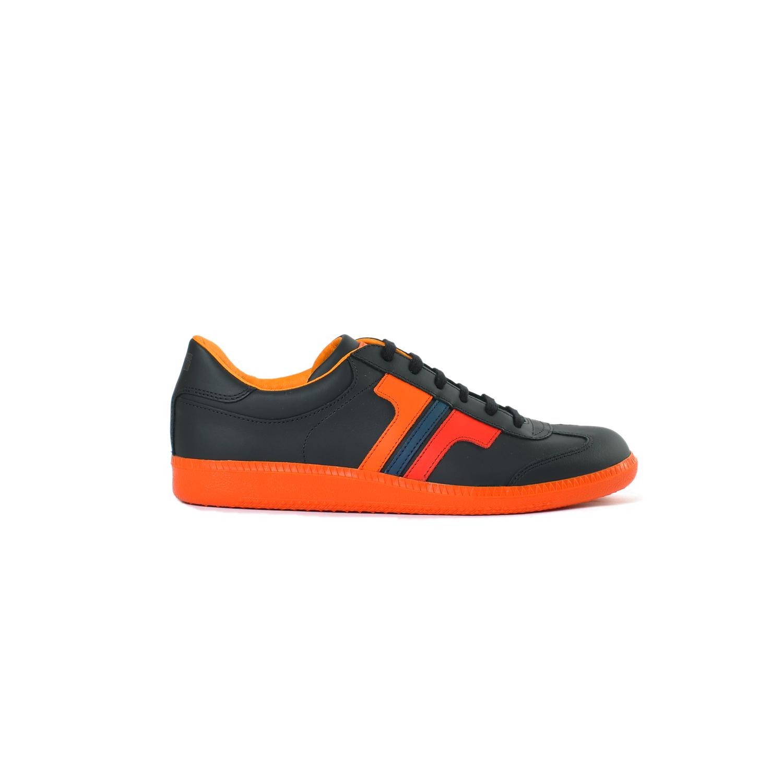 Tisza cipő - Compakt - Fekete-mix-narancs