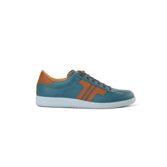 Tisza cipő - Compakt - Kék korall-mahagóni