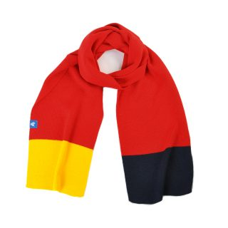 Tisza cipő - Sál - Piros-sárga