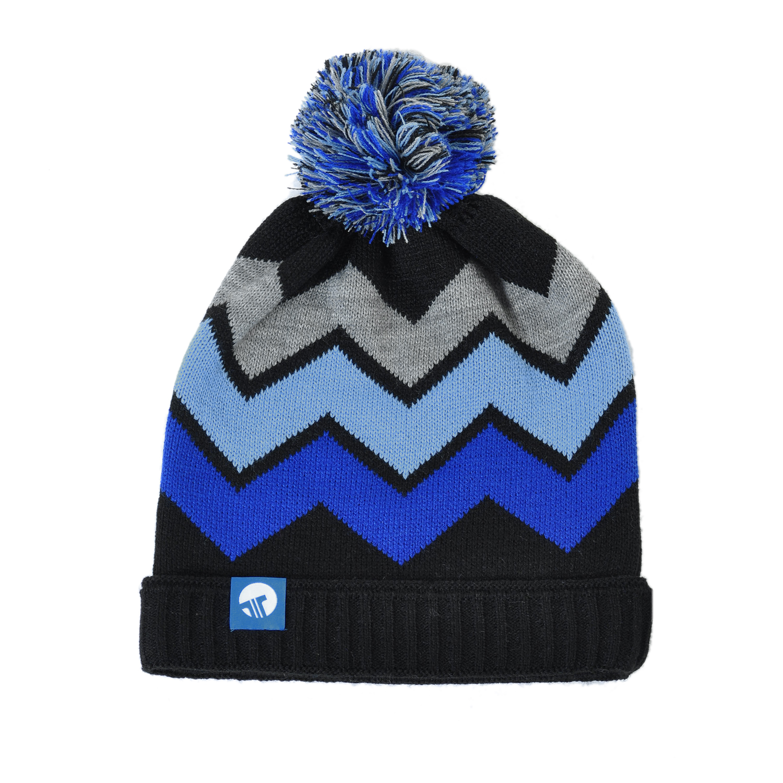 Tisza cipő - sapka - Fekete-kék