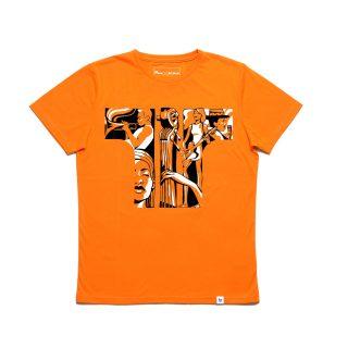 Tisza cipő - Póló - Narancs-koncert