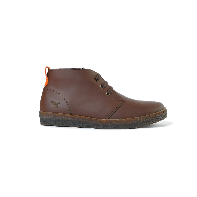 Tisza cipő - Alfa - Barna-narancs bélelt