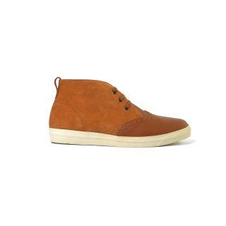 Tisza cipő - Alfa - Barna-klasszik