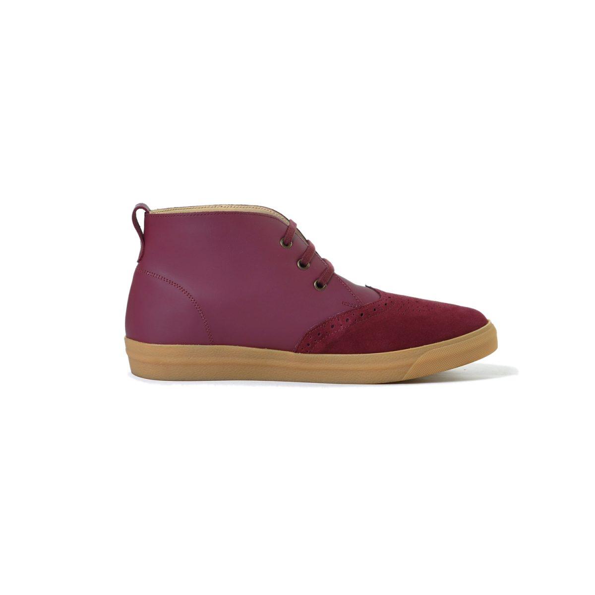 Tisza cipő - Alfa - Bordó-klasszik