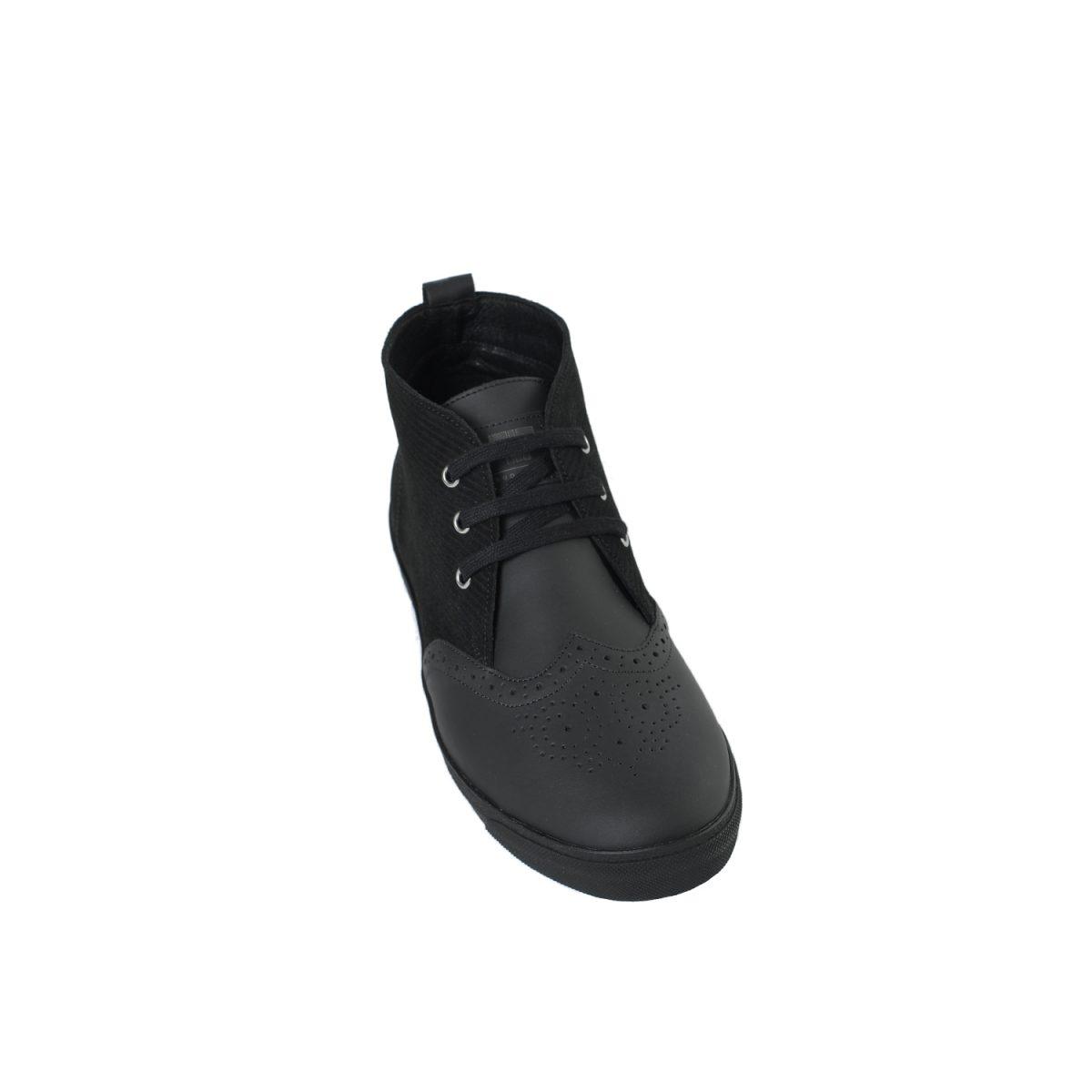 Tisza cipő - Alfa - Fekete-klasszik