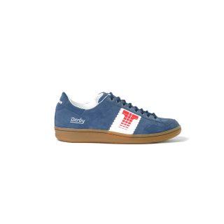 Tisza cipő - Derby - Sötétkék-fehér