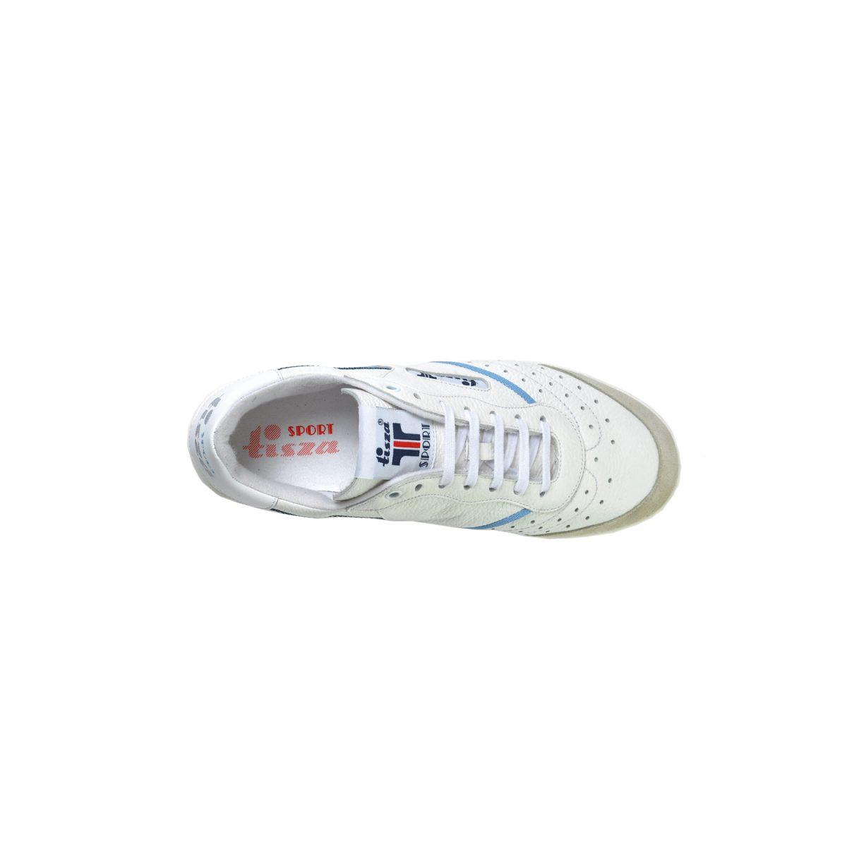Tisza cipő - Sport - Fehér-kék