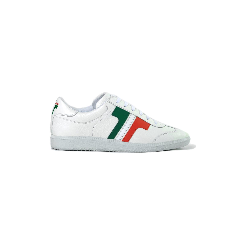 Tisza cipő - Compakt - Fehér-Trikolor