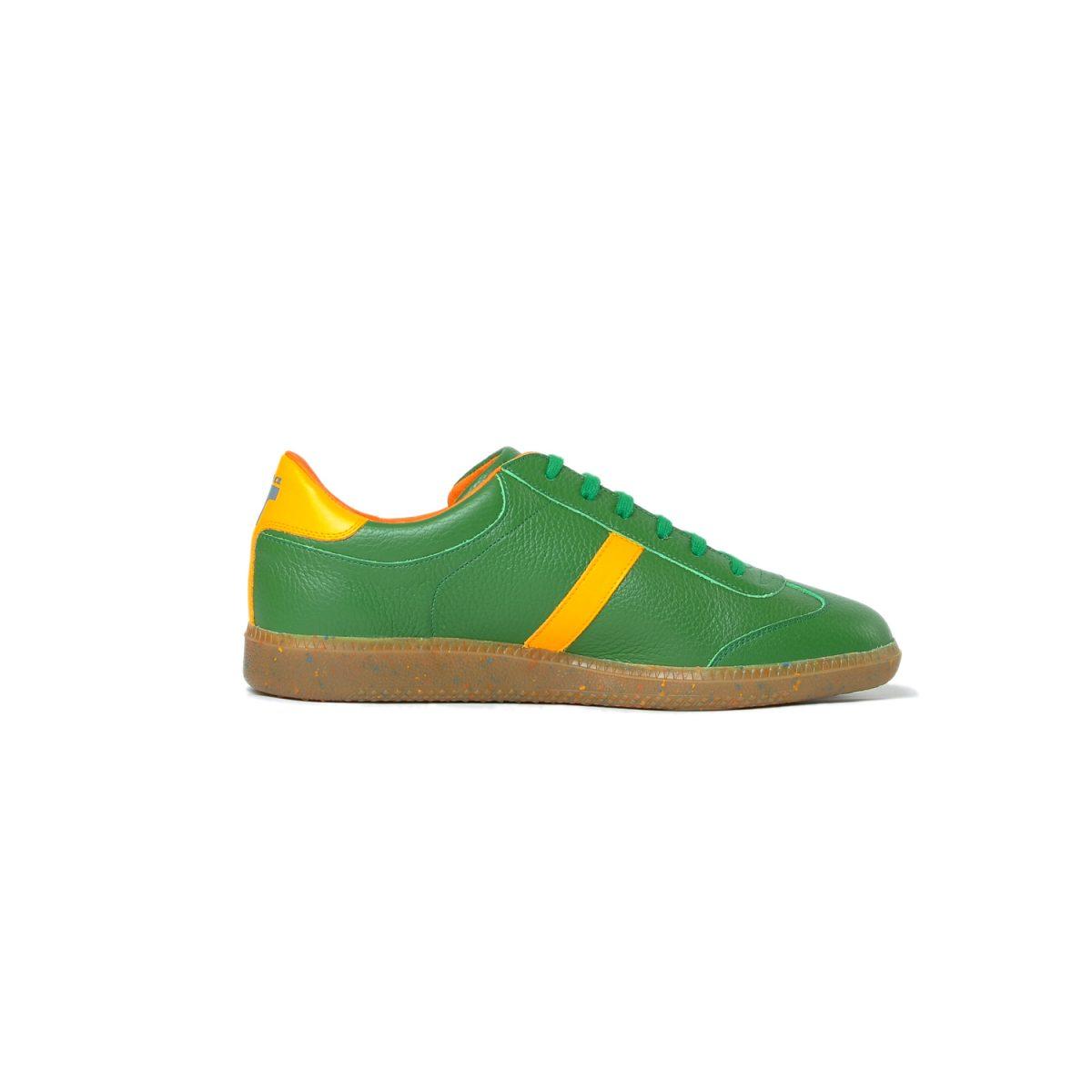 Tisza cipő - Compakt - Zöld-sárga