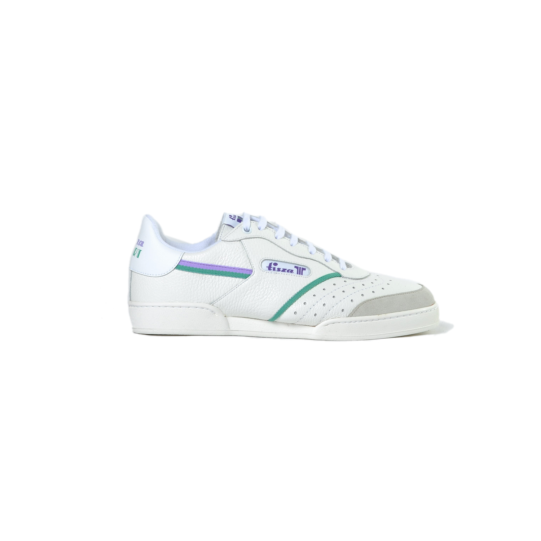Tisza cipő - Sport - Fehér-lila-zöld