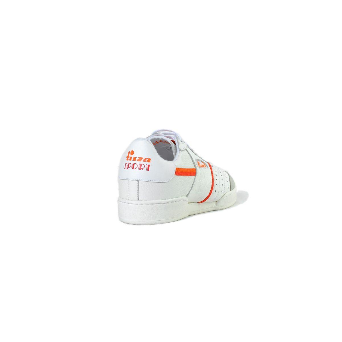 Tisza cipő - Sport - Fehér-piros-narancs