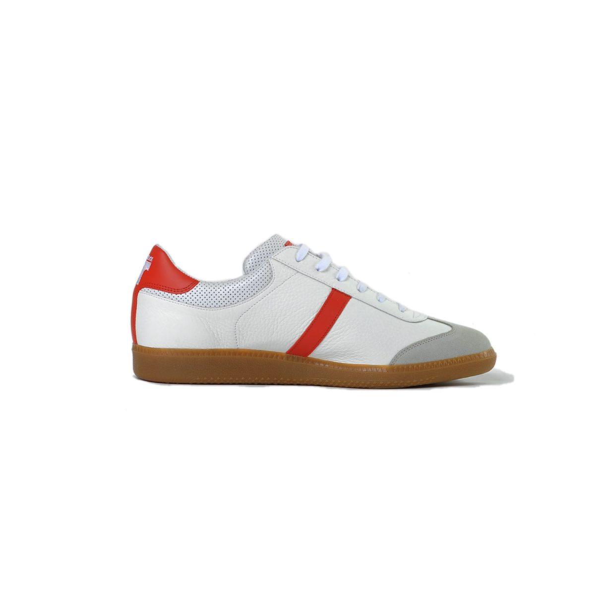 Tisza cipő - Compakt - Fehér-piros