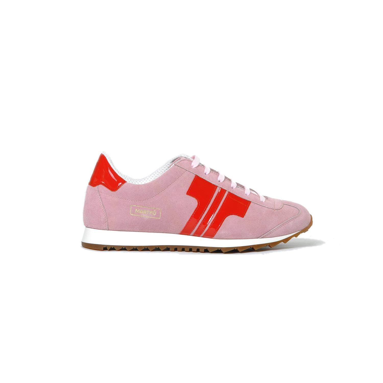 Tisza cipő - Martfű - Púder-piros