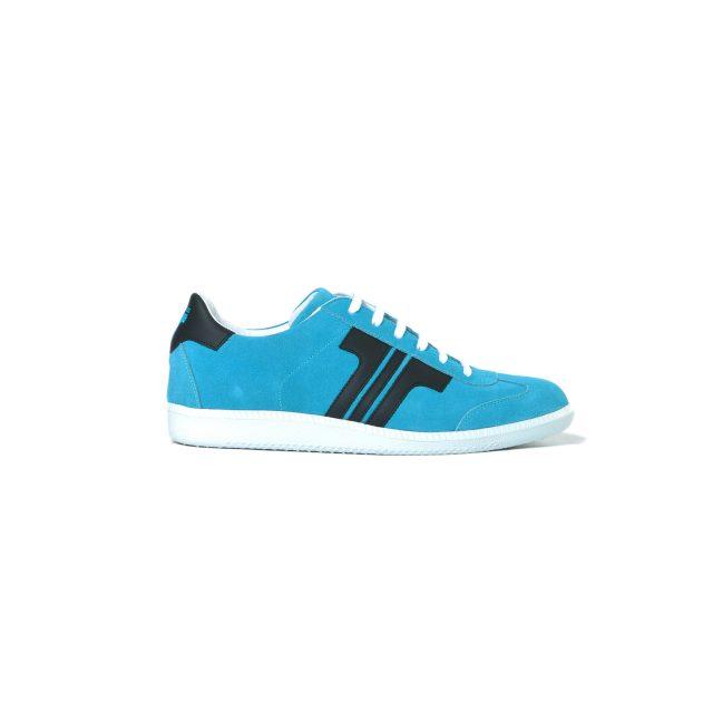 Tisza cipő - Comfort - Babakék-fekete