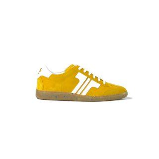 Tisza cipő - Comfort - Mustár-fehér