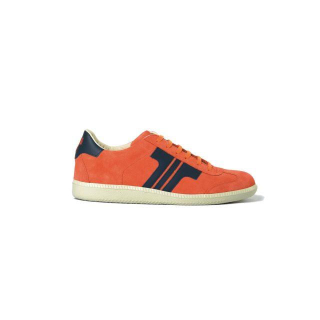 Tisza cipő - Comfort - Narancs-kék