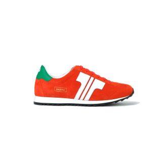 Tisza cipő - Martfű - Piros-fehér