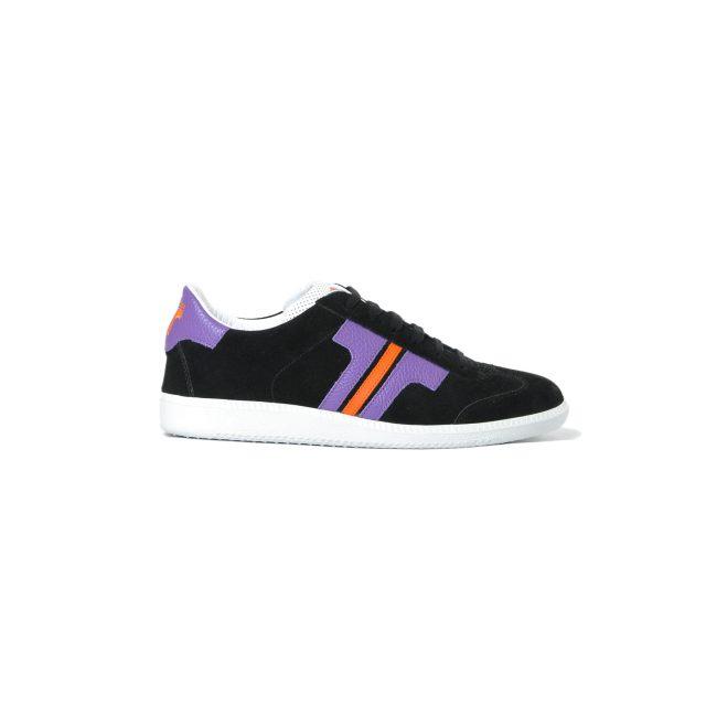 Tisza cipő - Comfort - Fekete-lila-narancs