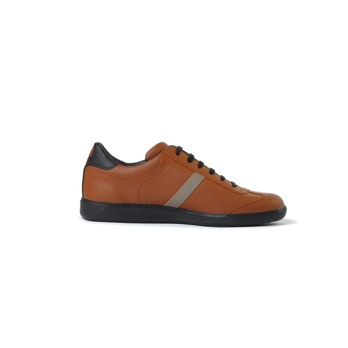 Tisza cipő - Compakt - Mahagóni-fekete-szürke-föld