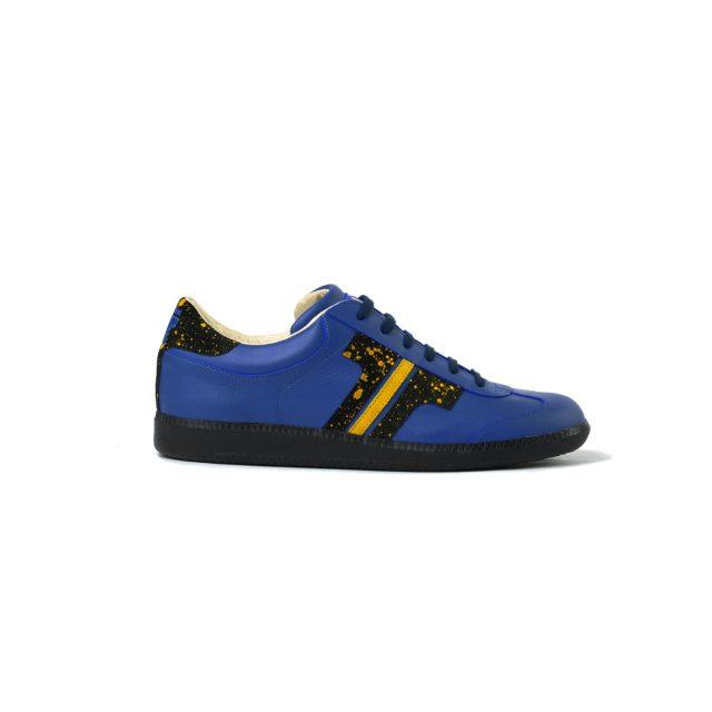 Tisza cipő - Compakt - Indigó-splash sárga