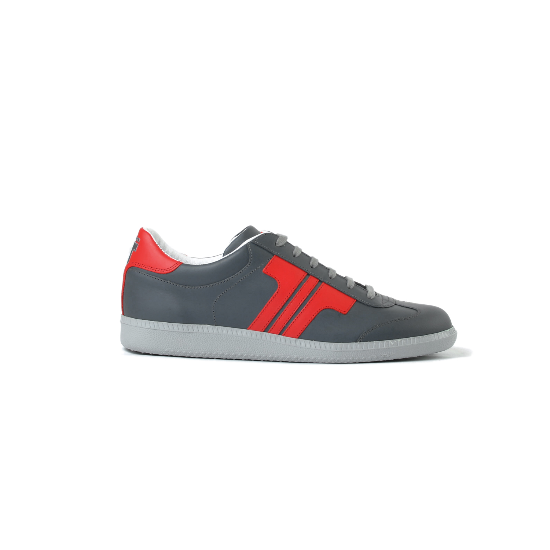 Tisza cipő - Compakt - Szürke-piros