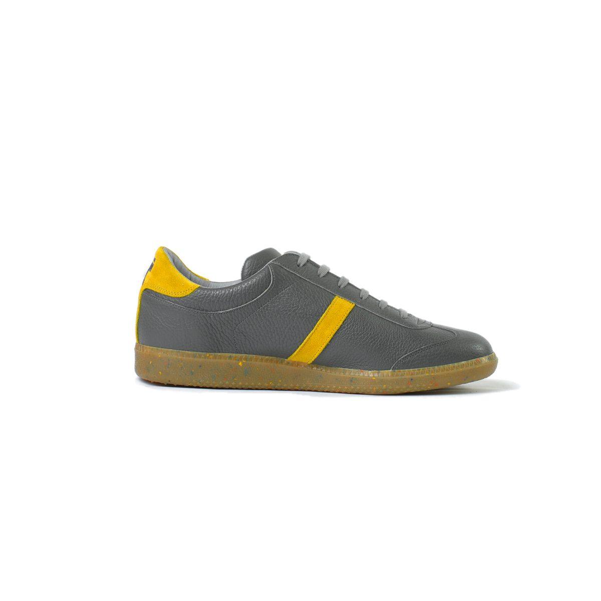 Tisza cipő - Compakt - Szürke-mustár