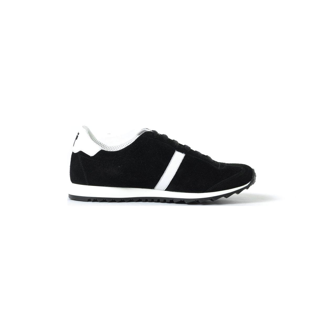 Tisza cipő - Martfű - Fekete-fehér