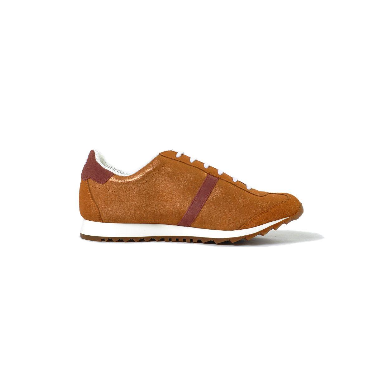 Tisza cipő - Martfű - Rózsaarany-gesztenye