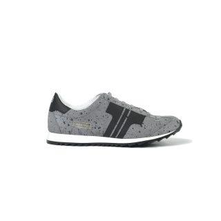 Tisza cipő - Martfű - Splash szürke-fekete