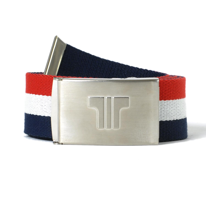 Tisza cipő - Öv - Kék-fehér-piros
