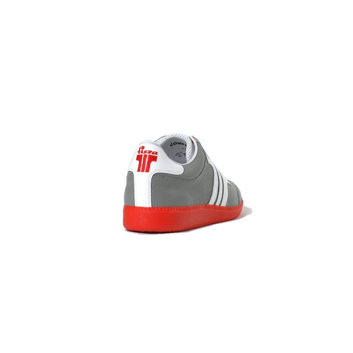 Tisza cipő - Compakt - Szürke-fehér-piros