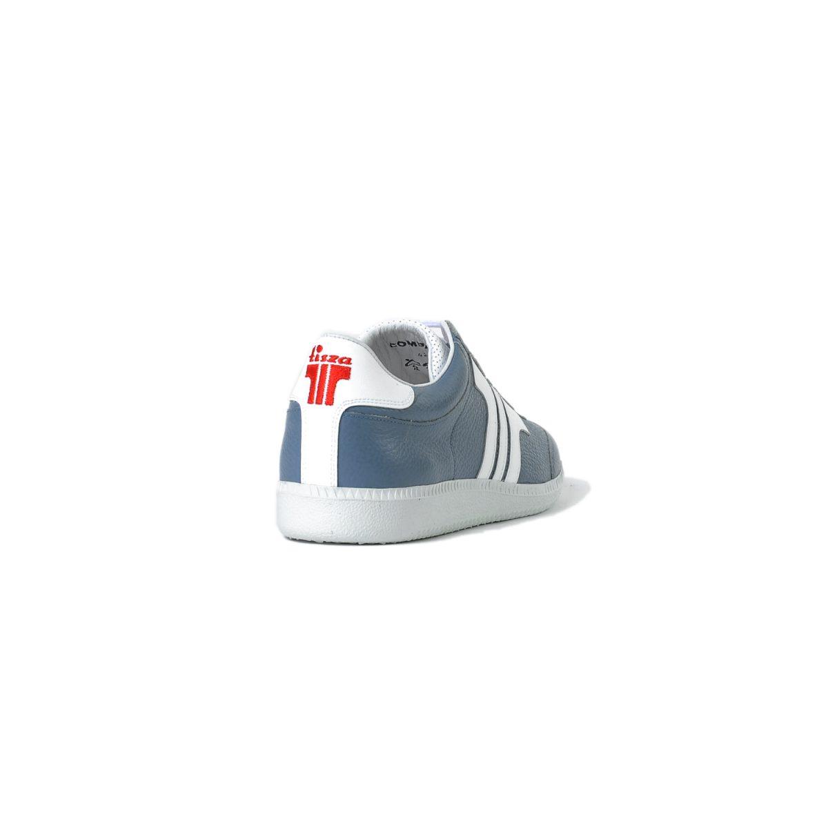 Tisza cipő - Compakt - Acélkék-fehér
