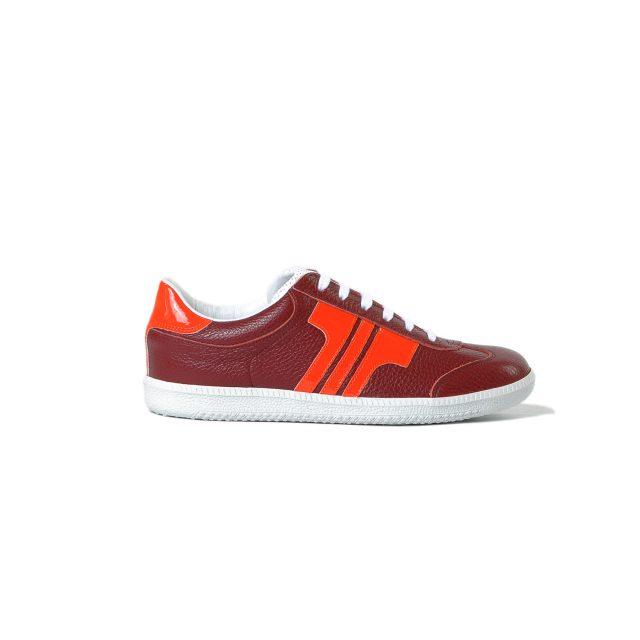 Tisza cipő - Compakt - Burgundi-lakk