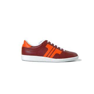 Tisza cipő - Compakt - Burgundi-narancs