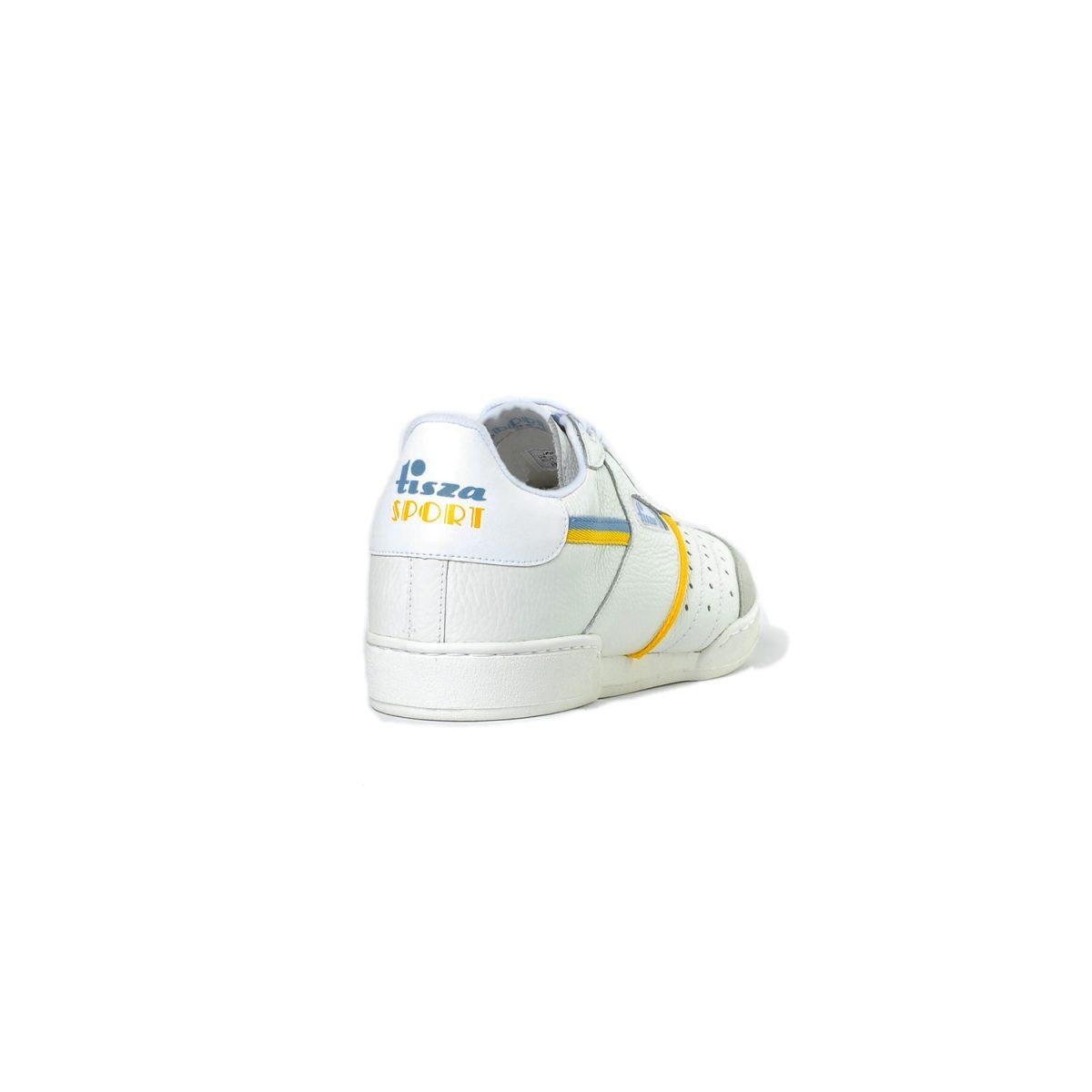 Tisza cipő - Sport - Fehér-sárga-kék