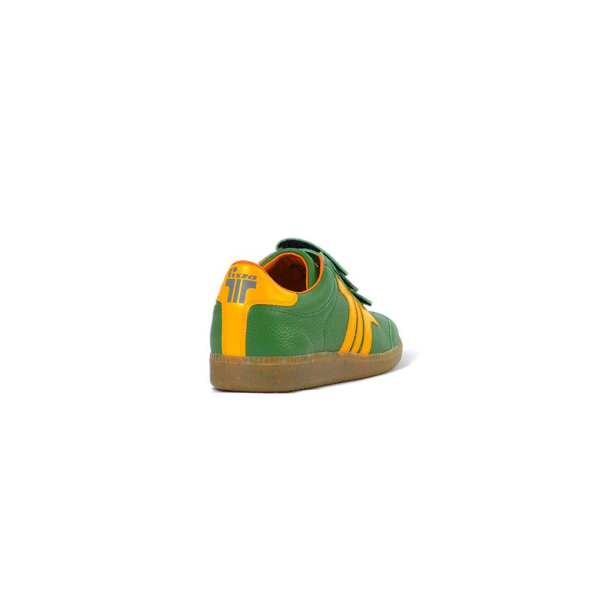 Tisza cipő - Delux - Zöld-sárga